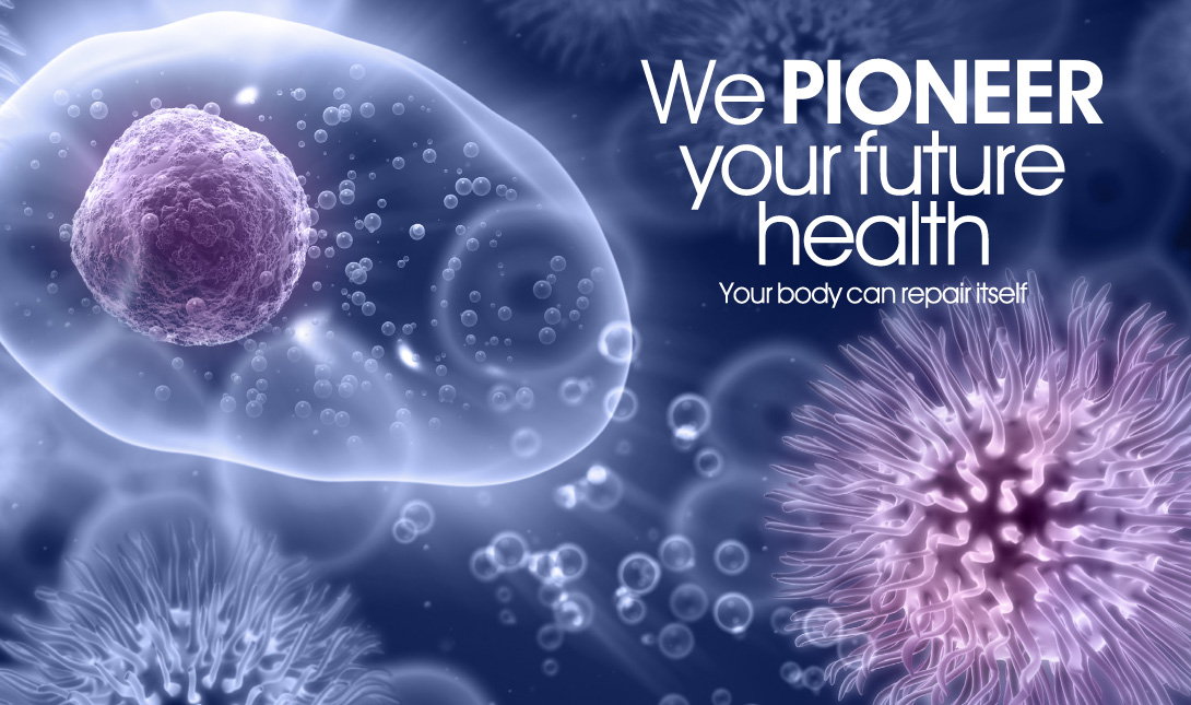 We pioneer your future health